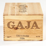 Gaja Costa Russi 2004, 6 bottles (Estimate: $1,000-1,200)