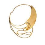 "Brass ""Half & Half"" Necklace, Art Smith (Lot 101, Estimate: $7,000 -9,000)"