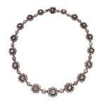 Antique Rose-cut Diamond Necklace (Lot 13, Estimate: $3,000-5,000)
