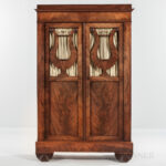 Biedermeier-style Mahogany Cabinet (Lot 1045, Estimate: $500-1,000)