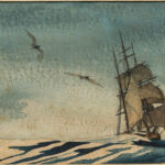 Maritime Watercolor Attributed to Theodore Feininger (Lot 1228, Estimate: $200-300)