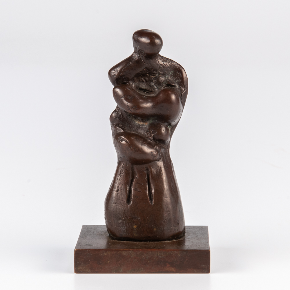 Henry Moore (British, 1898-1986), <i>Mother and Child: Skirt</i> (Lot 472, Estimate: $12,000-18,000)