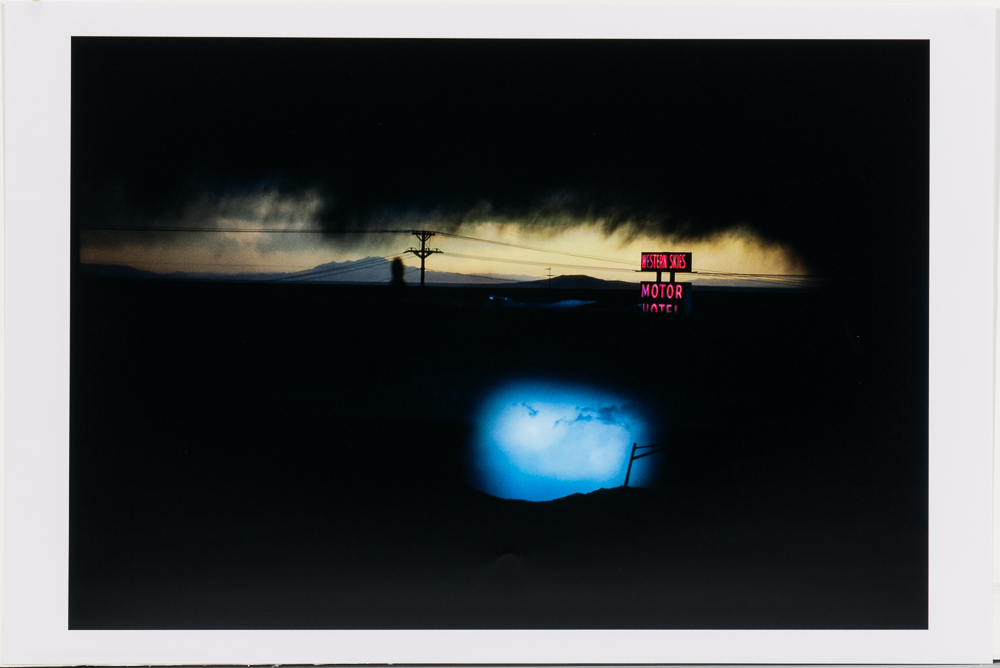 Ernst Haas (Austrian/American, 1921-1986), <i>Western Skies Motel, New Mexico</i> (Lot 133, Estimate: $2,500-3,500)