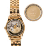 """Rare Patek Philippe """"Double Signed"""" 18kt Gold Automatic Wristwatch Reference 2526 (Estimate: $20,000-30,000)"""