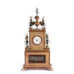 Chinese Cast Brass Automaton Shelf Clock (Estimate: $8,000-10,000)