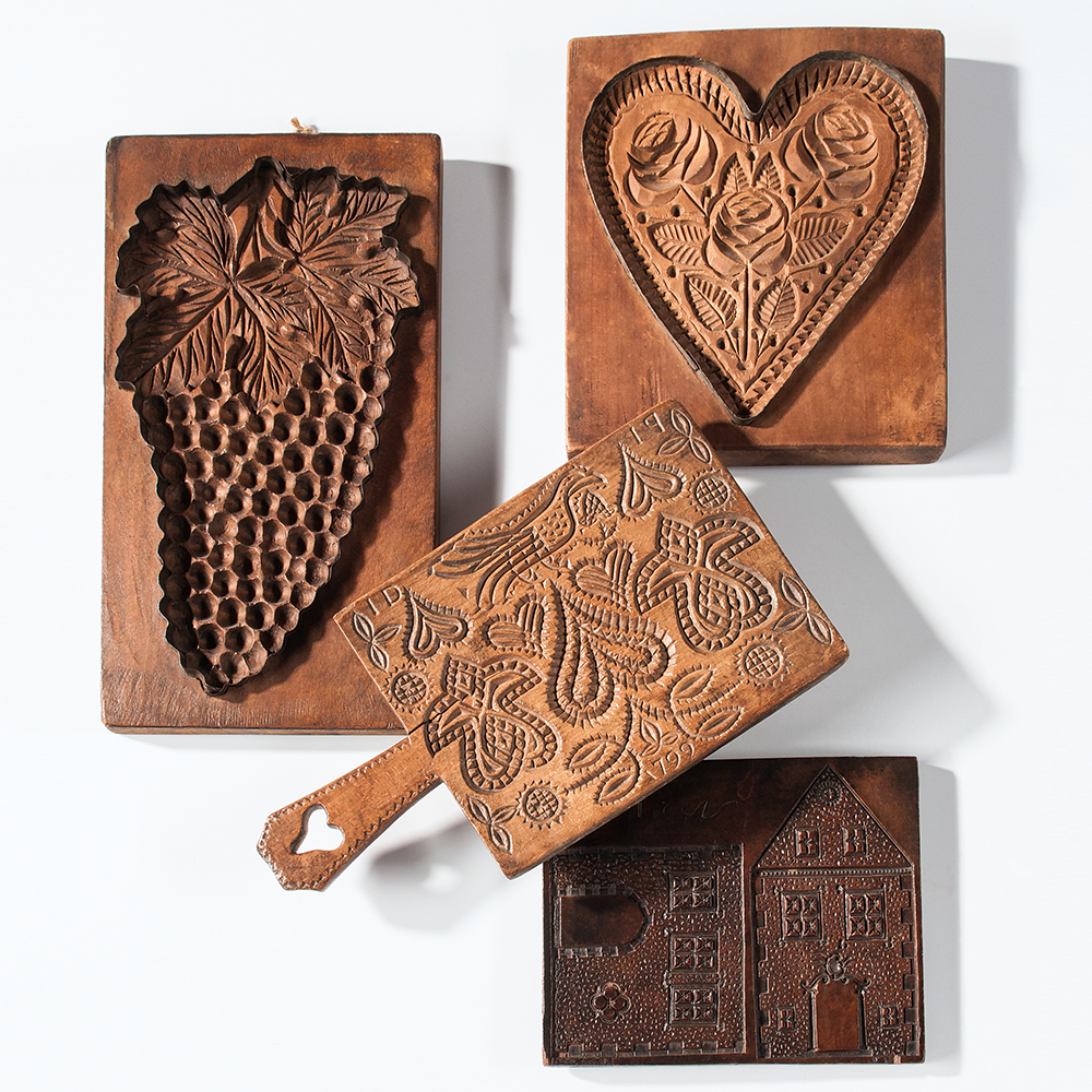 Carved House and Cookie Boards