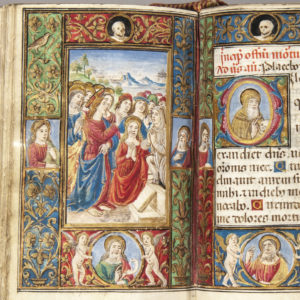 Detail | Book of Hours, Latin, Use of Rome. [Italy, Florence, 7 September 1508]. Sold for $23,370.