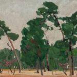 Jane Peterson (American, 1876-1965) <i>Florida Landscape</i>. (Lot 1007, Estimate: $700-900)