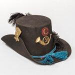 """U.S. Model 1858 """"Hardee"""" Dress Hat (Estimate: $2,000-3,000)"""