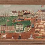 1 Johnathan Orne Johnson Frost, Marblehead Street Scene (Estimate: $15,000-25,000)