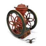 Enterprise Paint-decorated Cast Iron Coffee Grinder (Lot 501, Estimate: $300-500)