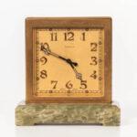 Tiffany Desk Clock (Lot 1001, Estimate: $200-300)