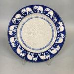 Dedham Pottery Elephant Bread Plate (Lot 1302, Estimate: $300-500)