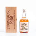 Springbank, 31 years old.  Campbeltown, 1966. 53.6% (Estimate: $2,000-3,000)