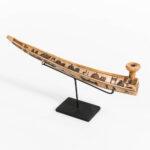 Eskimo Decorated Tobacco Pipe (Estimate: $800-1,200)