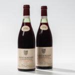 Henri Jayer Vosne Romanee Cros Parantoux 1978, 2 bottles (Lot 80, Estimate: $12,000-20,000)