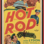 "Framed ""HOT ROD"" 1 Sheet movie poster (Estimate:  $100-150)"