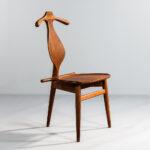 Hans J. Wegner for Johannes Hansen Valet Chair (Lot 419, Estimate: $4,000-7,000)