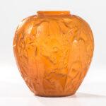 Rene Lalique Perruches Vase (Lot 54, Estimate: $8,000-12,000)