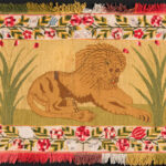 Wool Table Mat, America, mid-19th century (Lot 1651, Estimate: $800-1,200)