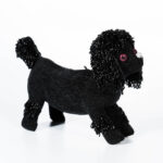 Black Poodle Clutch (Estimate: $400-600)
