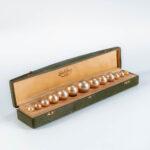 Delattrez Paris 1923 Parfum String of Pearls (Estimate: $2,000-3,000)