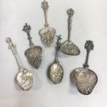 Six Continental Silver Serving Pieces (Lot 1151, Estimate: $200-400)