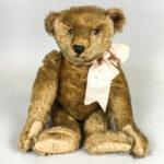 Early Blonde Mohair Teddy Bear (Lot 1002, Estimate: $800-1,200)