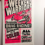 Five Hot Rod Genre One-sheet Movie Posters (Lot 1112, Estimate: $100-150)