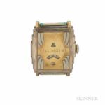 "Illinois ""Jump Hour"" Wristwatch, no. 5463066."