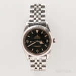 "Early Rolex Glossy Black Dial ""Explorer"" Reference 1016 Wristwatch, c. 1963."
