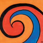 """Alexander Calder (American, 1898-1976), Osaka, Signed and dated """"Calder 70"""" (Estimate: $50,000-70,000)"""