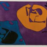 Patrick Heron (British, 1920-1999) Night Violet, 1980 (Lot 74, Estimate: $1,000-1,500)