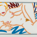 Tom Wesselmann (American, 1931-2004) Judy on a Blue Blanket, 2000 (Lot 90, Estimate: $3,500-5,500)
