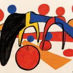 "Alexander Calder (American, 1898-1976), Petite vitesse, Signed and dated ""Calder 69"" (Lot 428, Estimate: $50,000-70,000)"