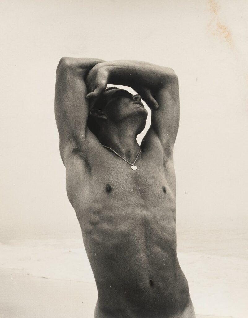Chuck Howard nude at the beach