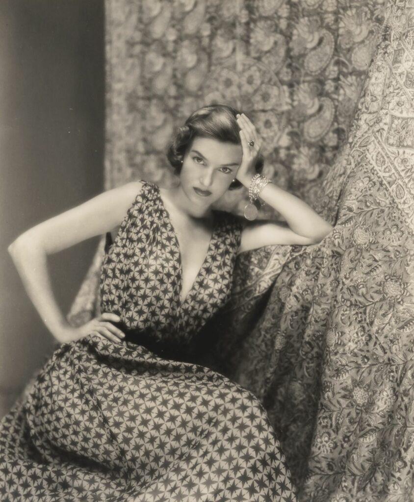 George Platt Lynes' portrait of a female model