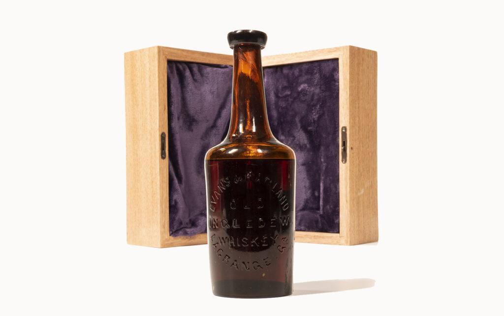 Old Ingledew whiskey bottle