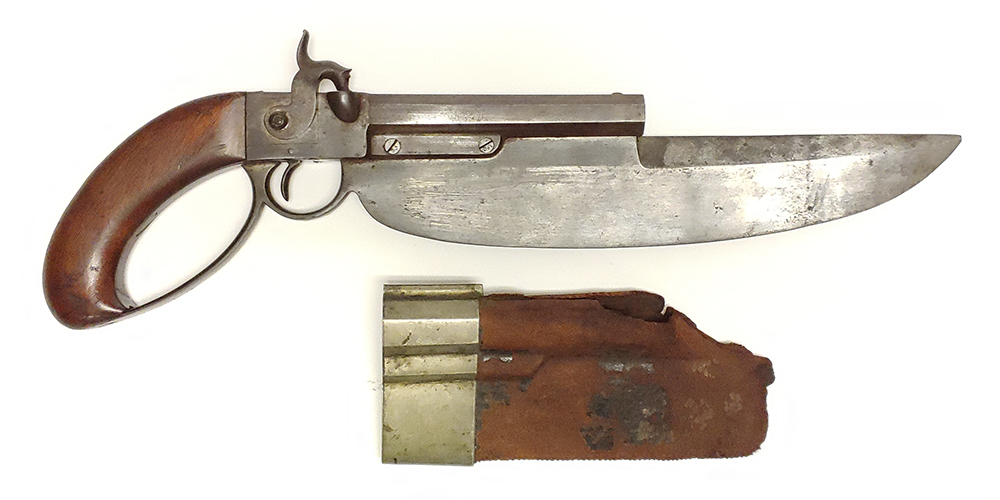 Elgin Patent Cutlass Pistol