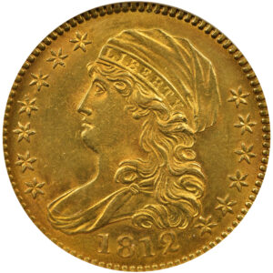 1812 Capped Bust Eagle, MS-63
