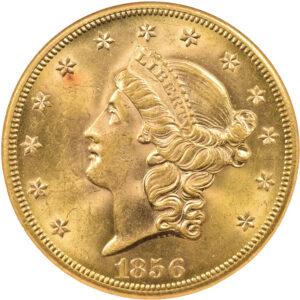 1856-S Liberty Head Double Eagle