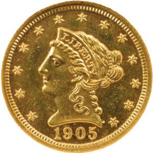 1905 Liberty Head Quarter Eagle, Proof