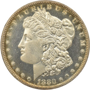 1880 Morgan Dollar, Proof