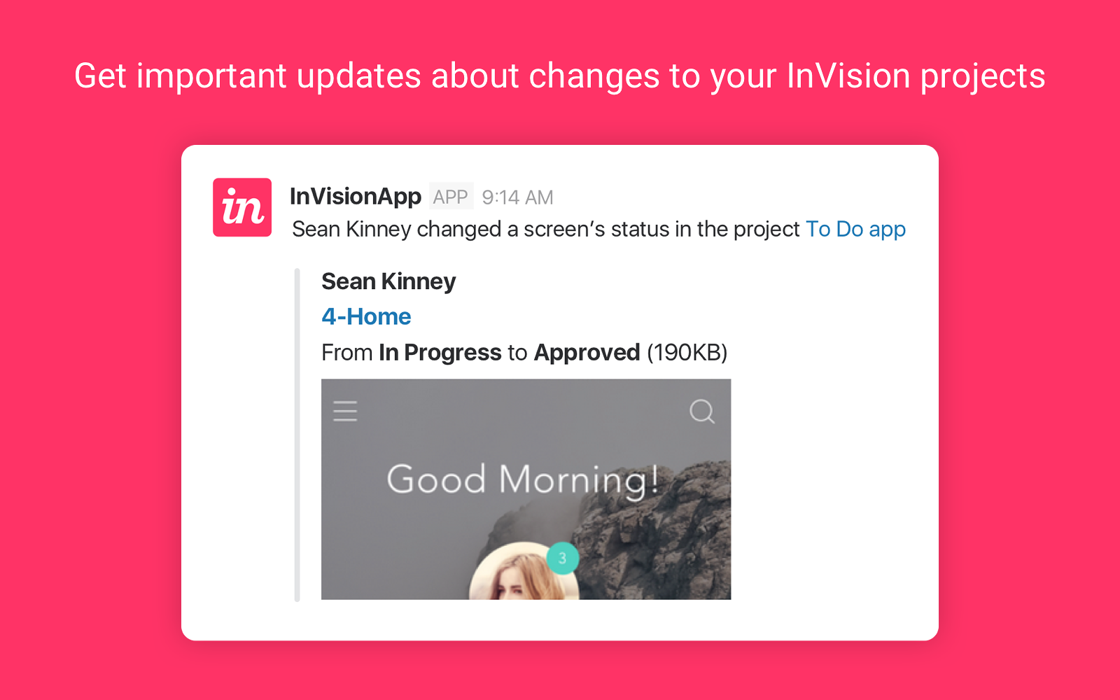 InVision App | Slack App Directory