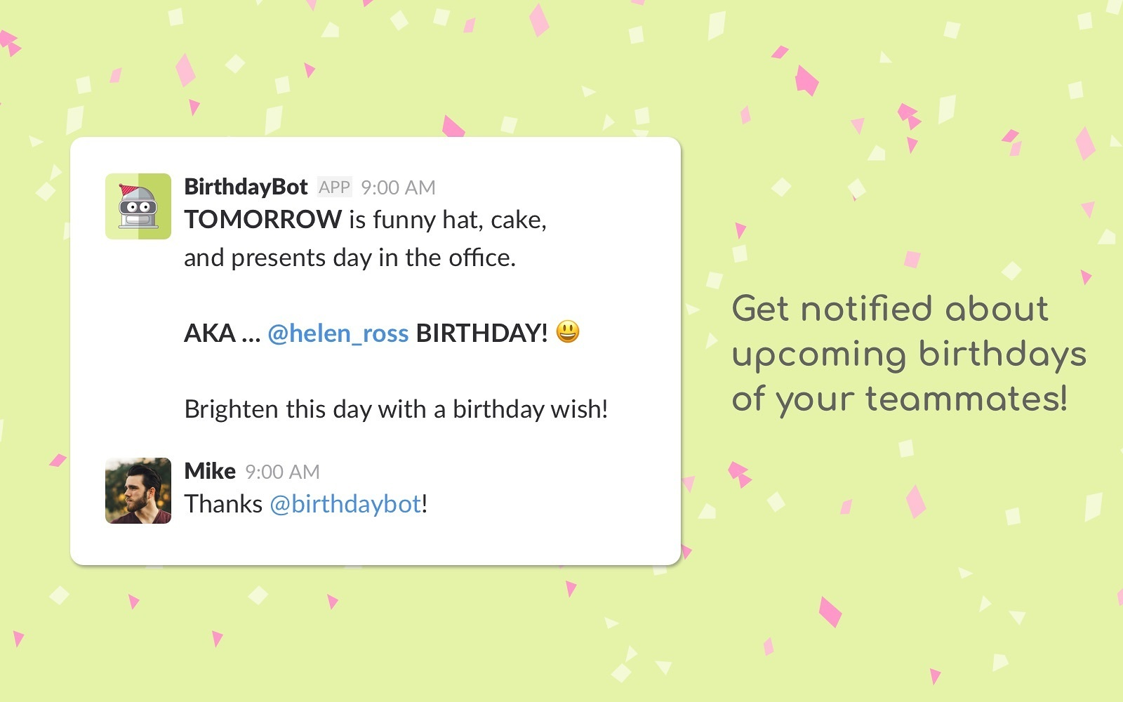 WARNING The Bot Comes Packed With A Bunch Of Birthday Wishes And Load Funny GIFs