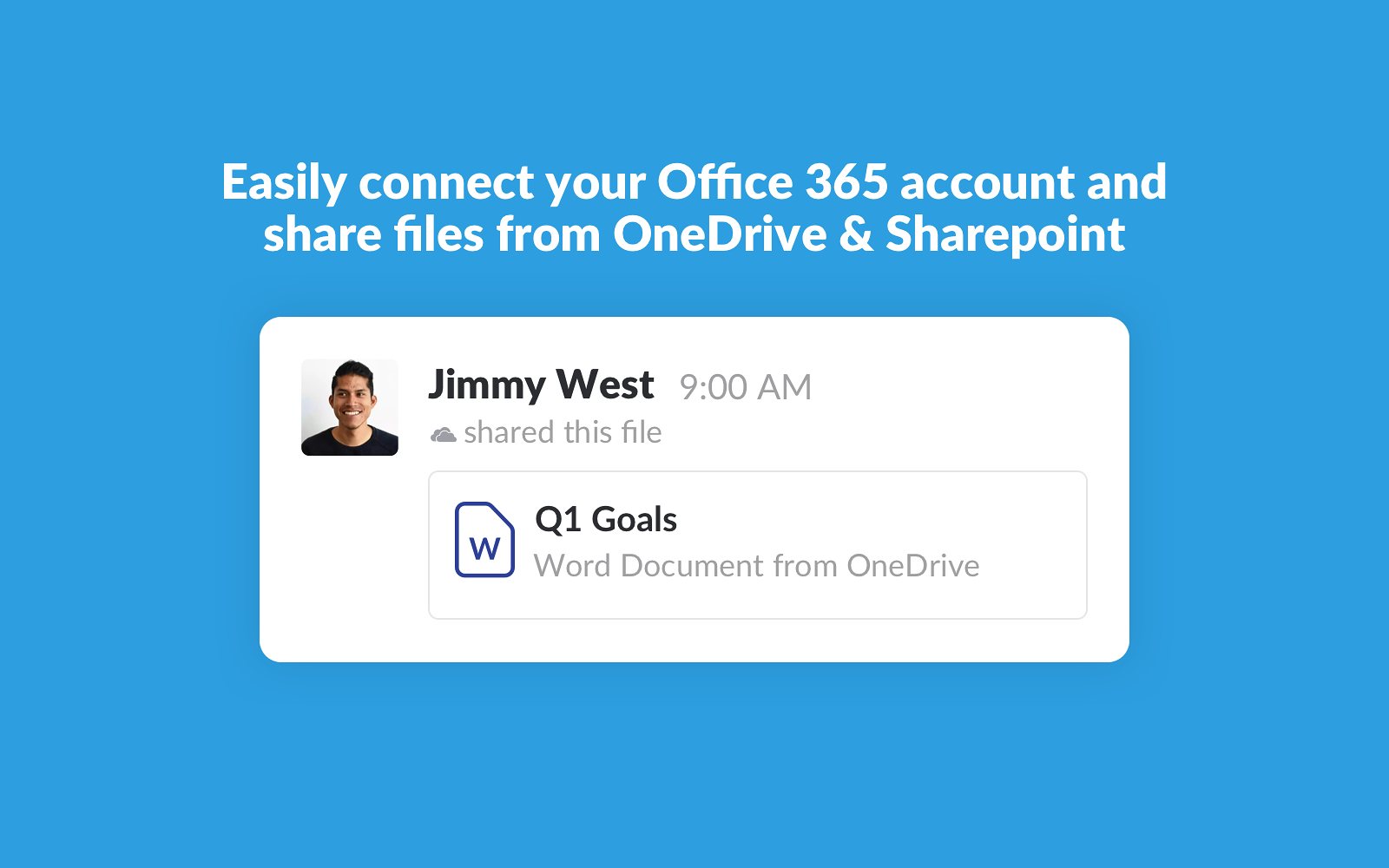 Microsoft onedrive slack app directory files in onedrive and sharepoint stay in sync whenever you re share the file slack will check for changes stopboris Choice Image