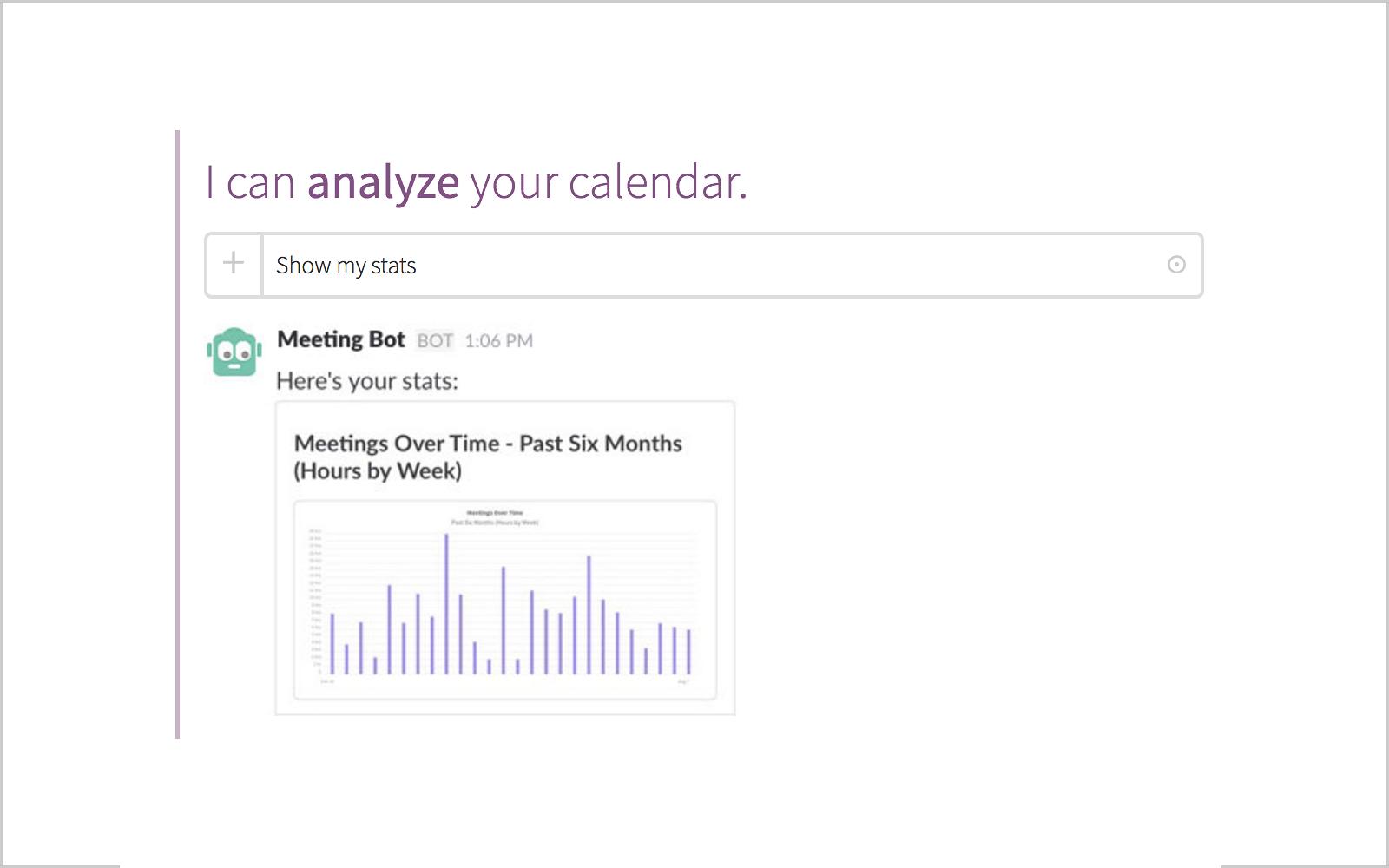 weekly availability calendar
