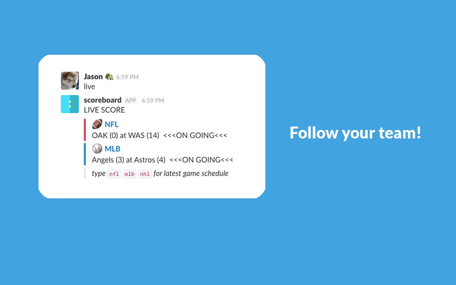 scoreboard | Slack App Directory