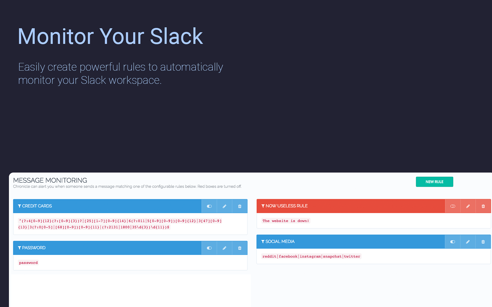 Chronicle   Slack App Directory
