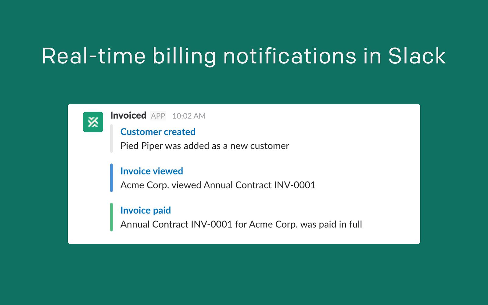 invoiced slack app directory